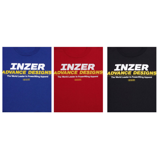Inzer Advance Designs T-Shirts rot M
